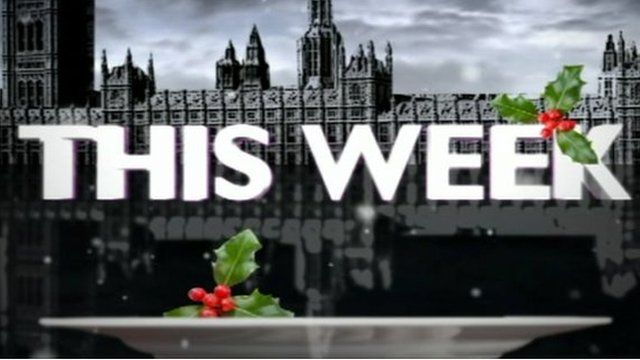 This Week Christmas graphic