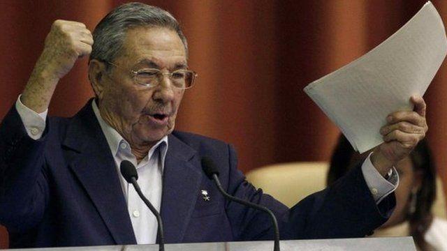 Cuban President Raul Castro