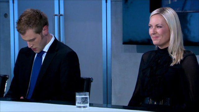 Chris Bates and Stella English