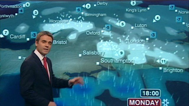 BBC Weather's John Hammond