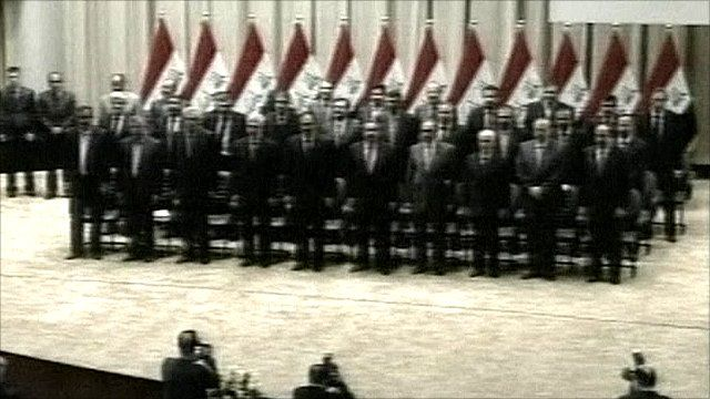 Iraq's new government