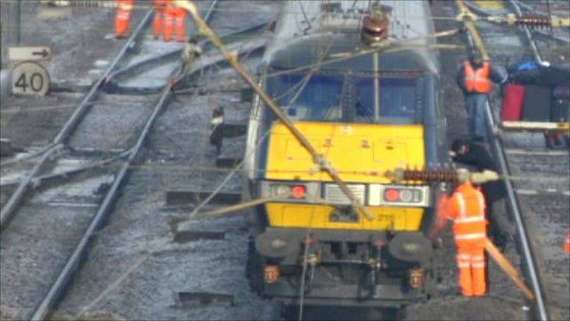 Passenger led from East Coast mainline