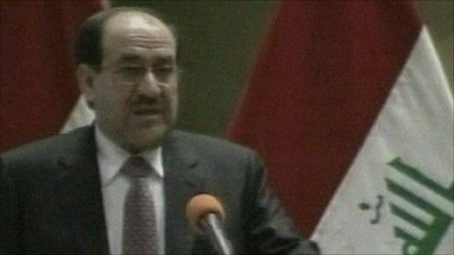 Prime Minister Nouri Maliki