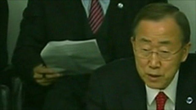 Mr. Ban called on member states to help the UN in Ivory Coast