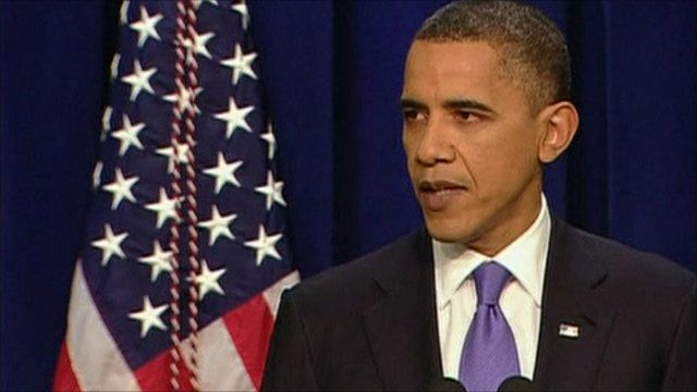 President Obama delivers his end of year address