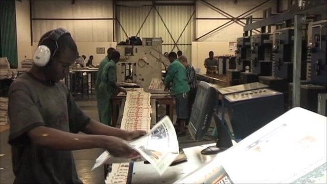 """Zimbabwe's """"The Standard"""" newspaper is facing bankruptcy after publishing cables by Wikileaks"""