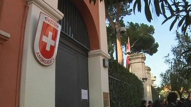 Swiss embassy, Rome