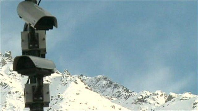 CCTV cameras in Verbier