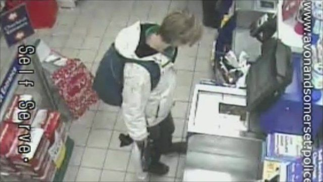 CCTV of Joanna Yeates in Tesco Express, Clifton