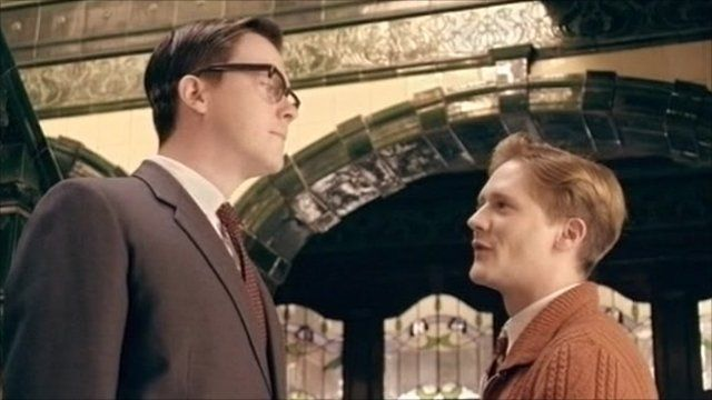 A scene from Eric and Ernie