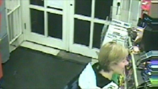 CCTV of Joanna Yeates