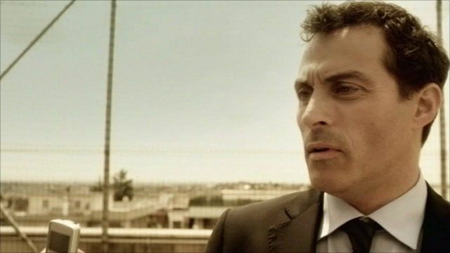Rufus Sewell playing Aurelio Zen