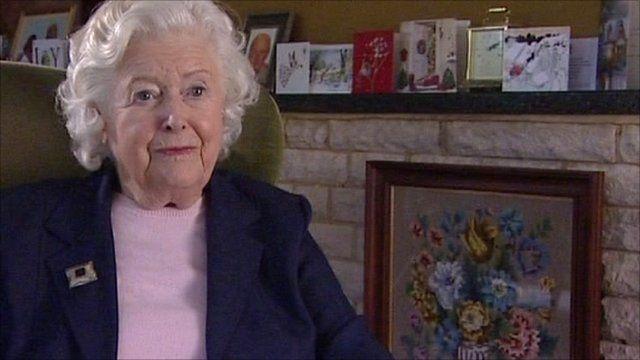 June Spencer aka Peggy Archer