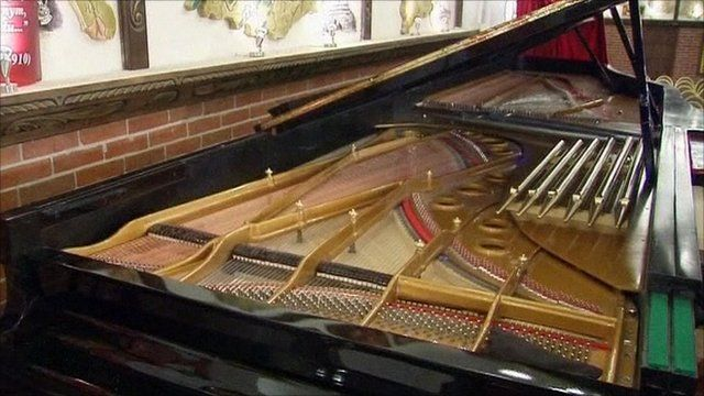 The contender for the world's largest grand piano
