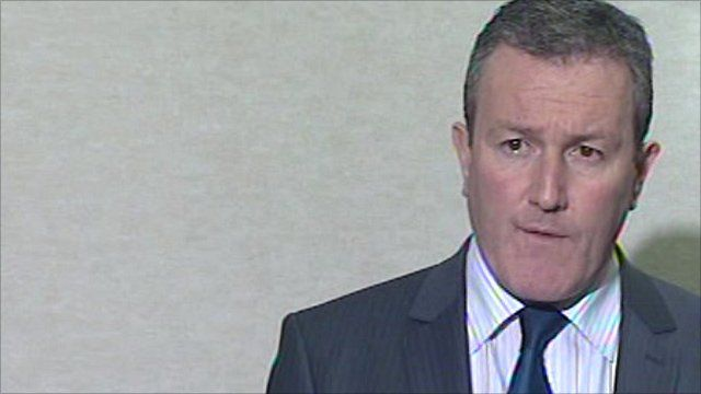 Regional Development Minister in Northern Ireland, Conor Murphy
