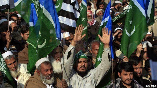 Rally in Peshawar