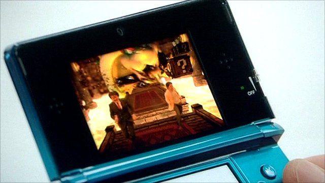 Nintendo handheld device
