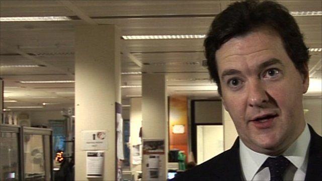 Chancellor George Osborne interview