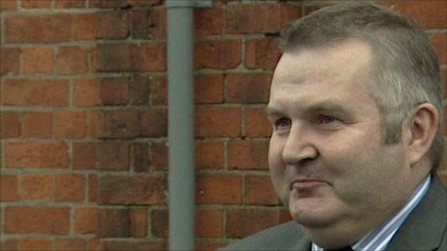 Northern Ireland Water chief executive Laurence MacKenzie
