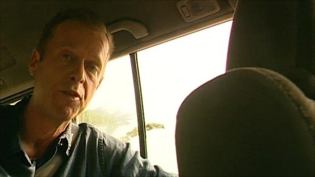 The BBC's Andrew Harding was threatened at gun-point on his way to interview Alassane Ouattara at his besieged hotel