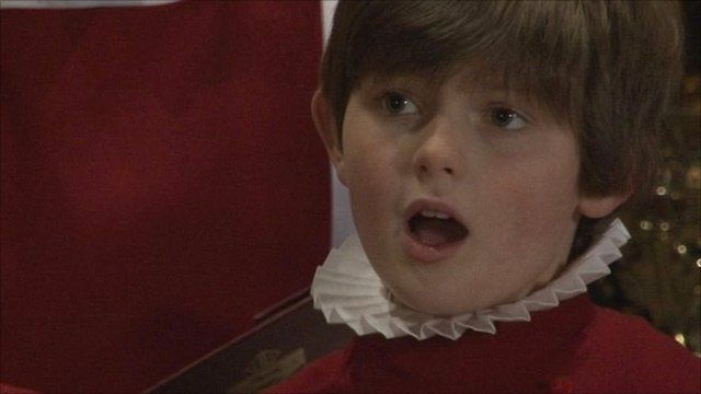 Choir boy at Ripon Cathedral