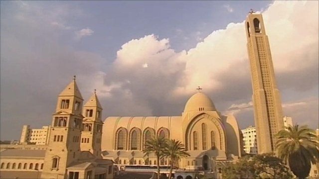 Cathedral in Cairo