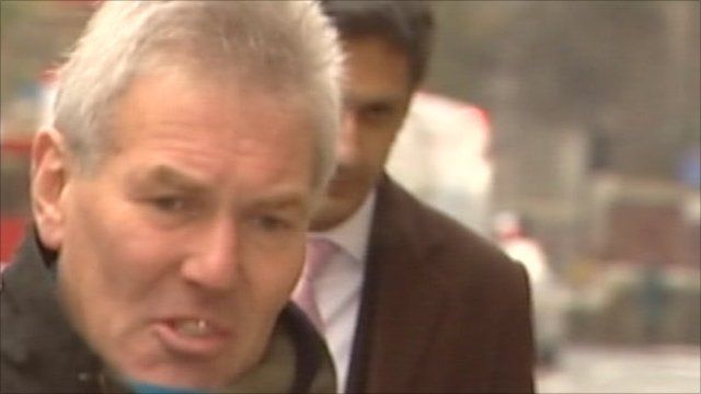 David Chaytor outside court