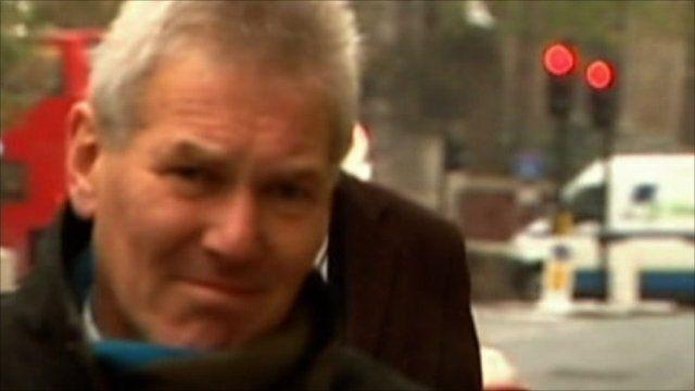 David Chaytor arriving at court