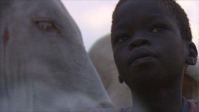Child in Sudan