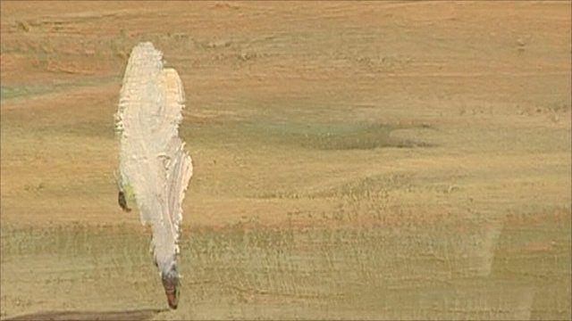 One of Rashid Diab's paintings