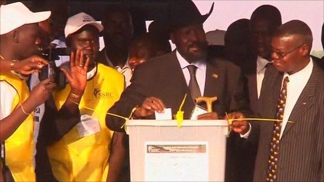 South Sudanese leader Salva Kiir