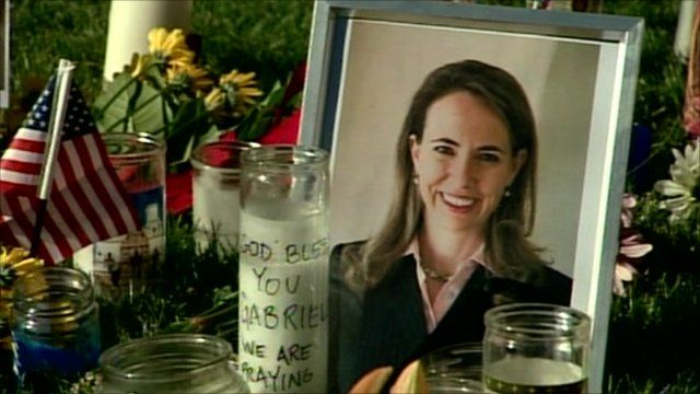 Vigil for Congresswoman Gabrielle Giffords