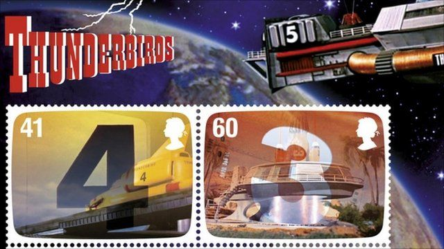 The Genius of Gerry Anderson stamps