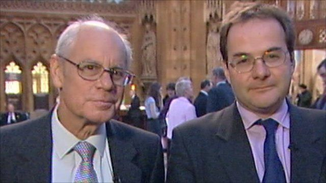 Simon Hoggart and Quentin Letts