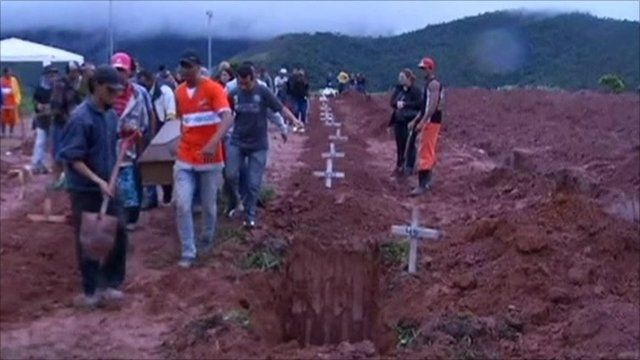 Burials have started taking place for the victims