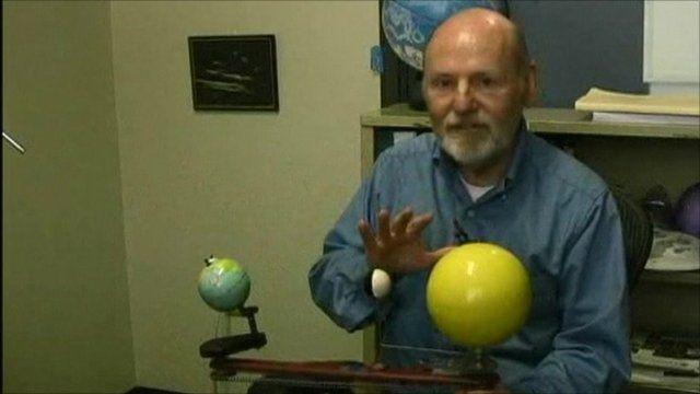 Astronomer Parke Kunkle