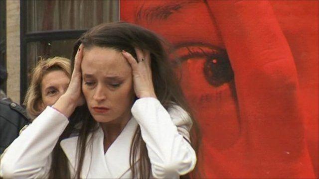 Domestic violence campaign in Serbia
