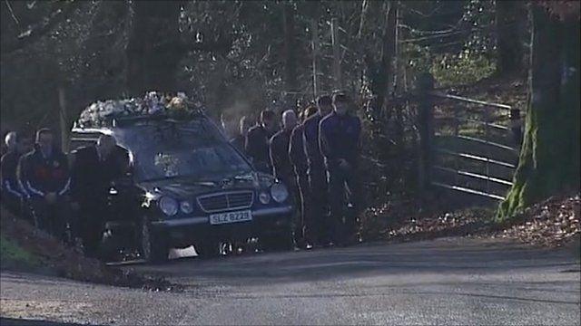 Funeral of Michaela McAreavey