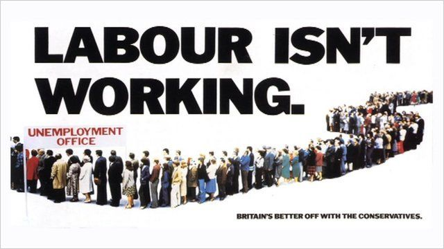 Labour is not not working advert