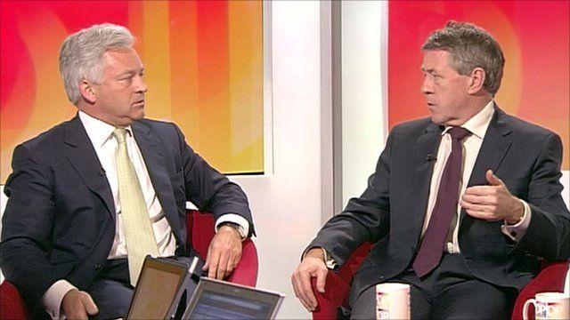Alan Duncan and John Denham