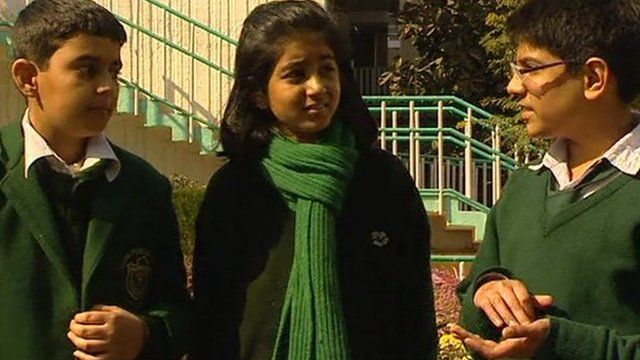 Students from Delhi