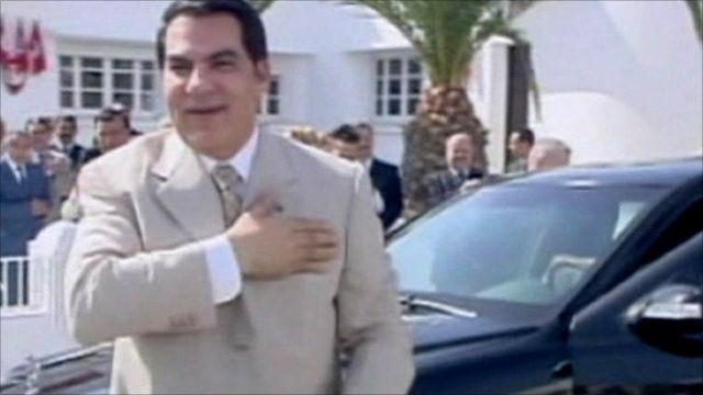 Ousted President Zine al-Abidine Ben Ali