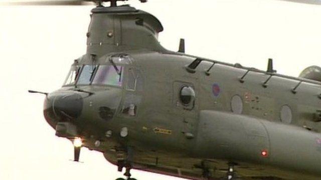 Commando helicopter