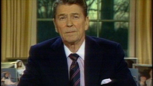 how to president regan use the meadia