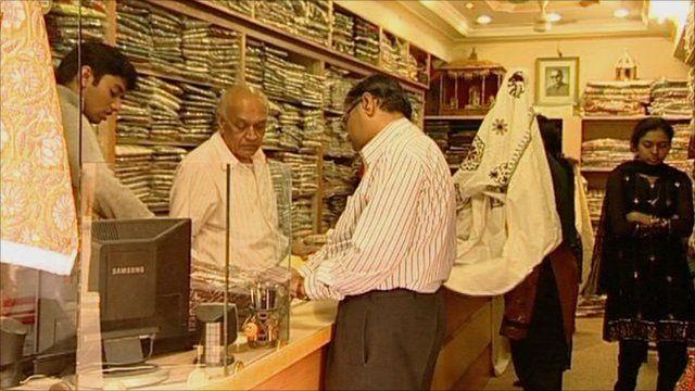 A shop in Gujarat