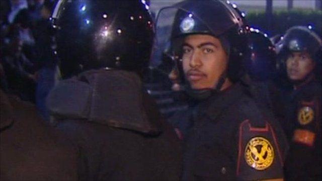 Police in Egypt