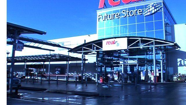 The Future Store shopfront