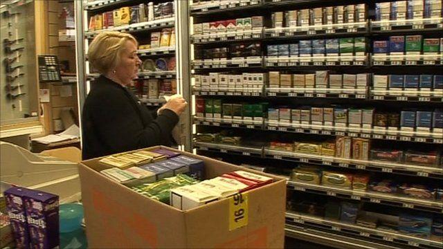 Debbie Corris in her shop