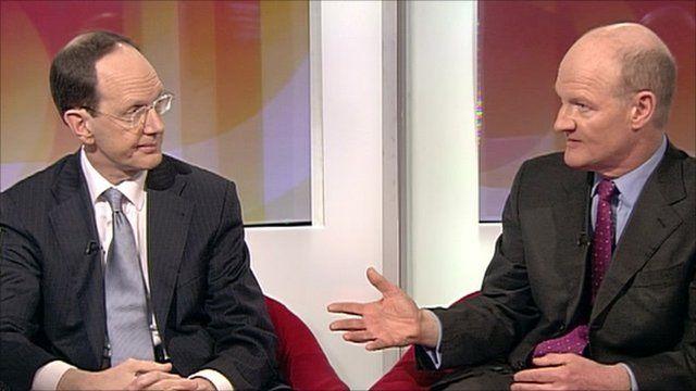 John Cridland and David Willetts