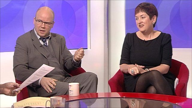 Toby Young and Mary Bousted